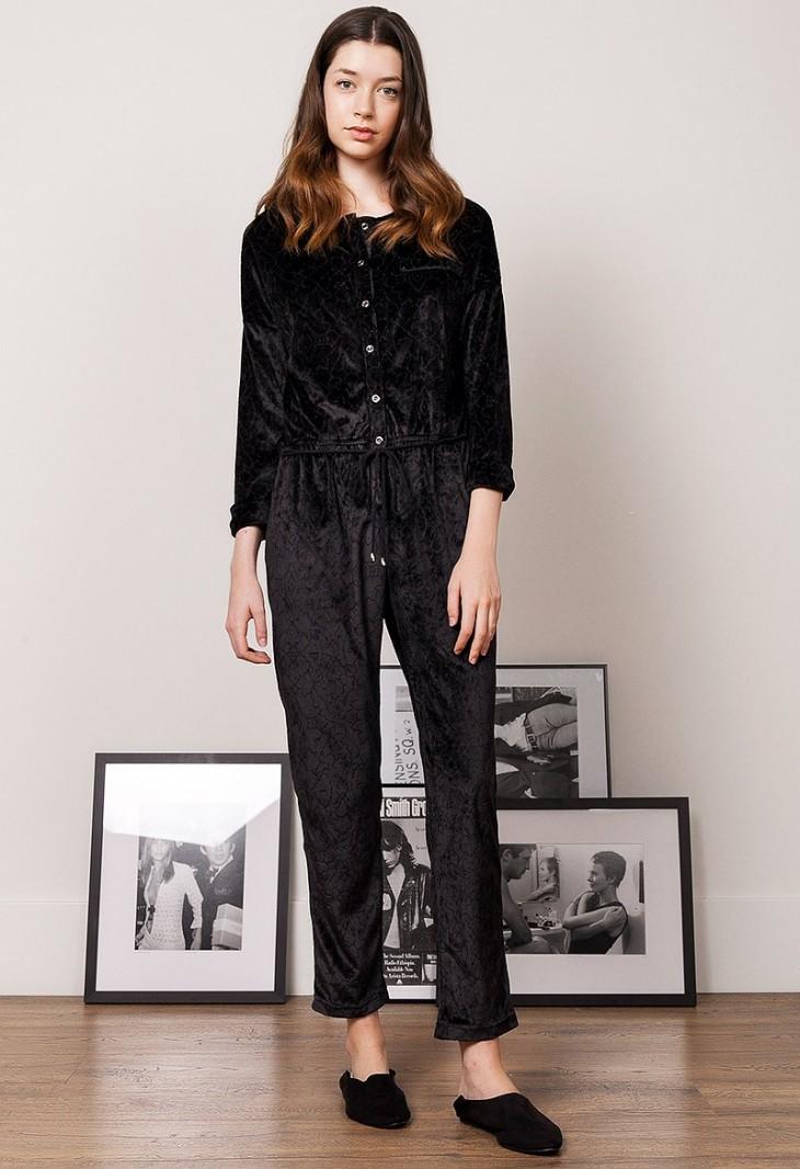 Combinaison Pantalon Noir Carine