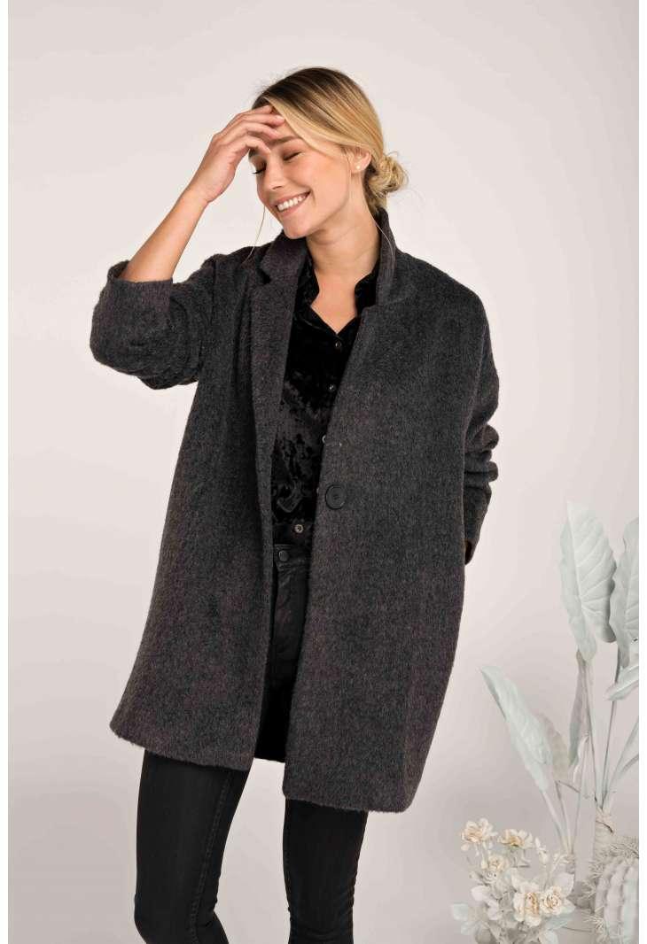 Coat Manon Noir